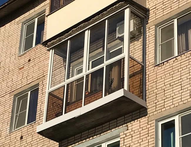 Отлично дала на балконе — 13