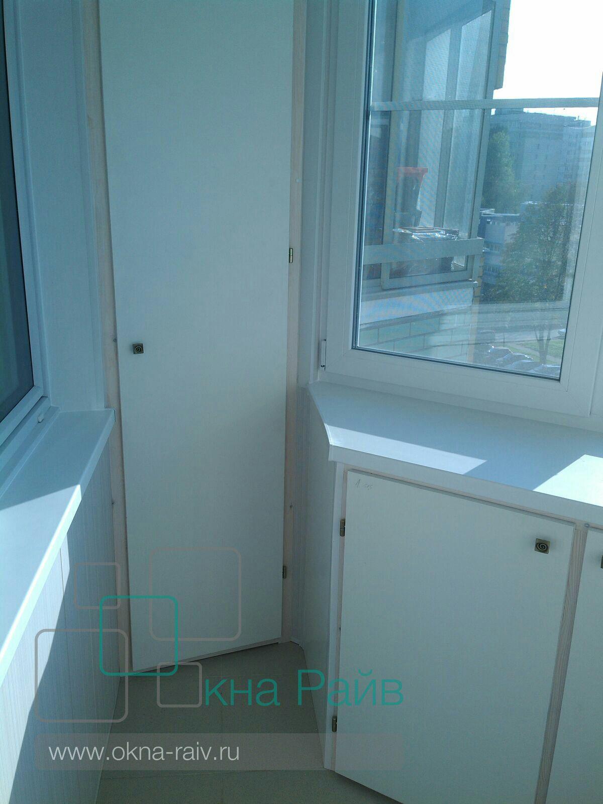 Отделка балкона и лоджий под ключ.